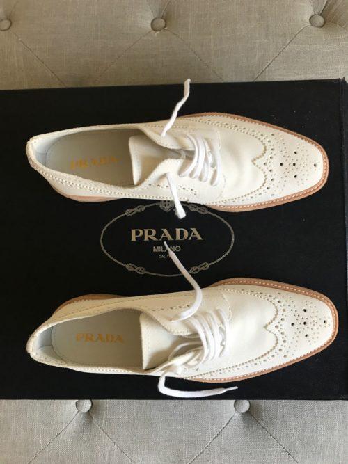 Sneakersy Prada